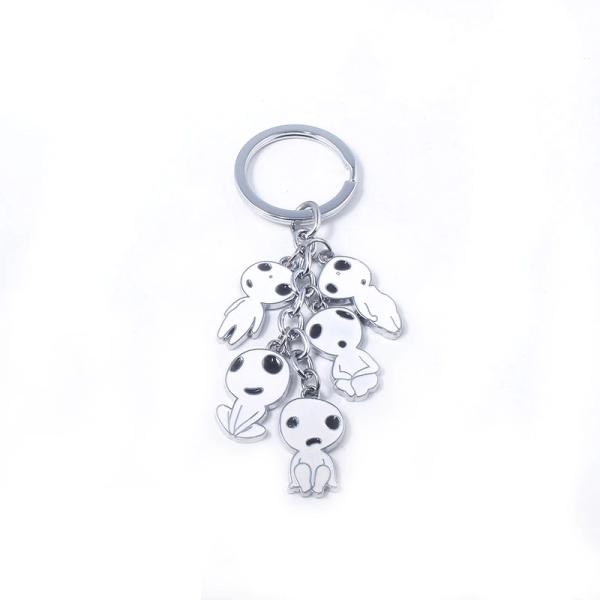Princess Mononoke Kodama Keychain