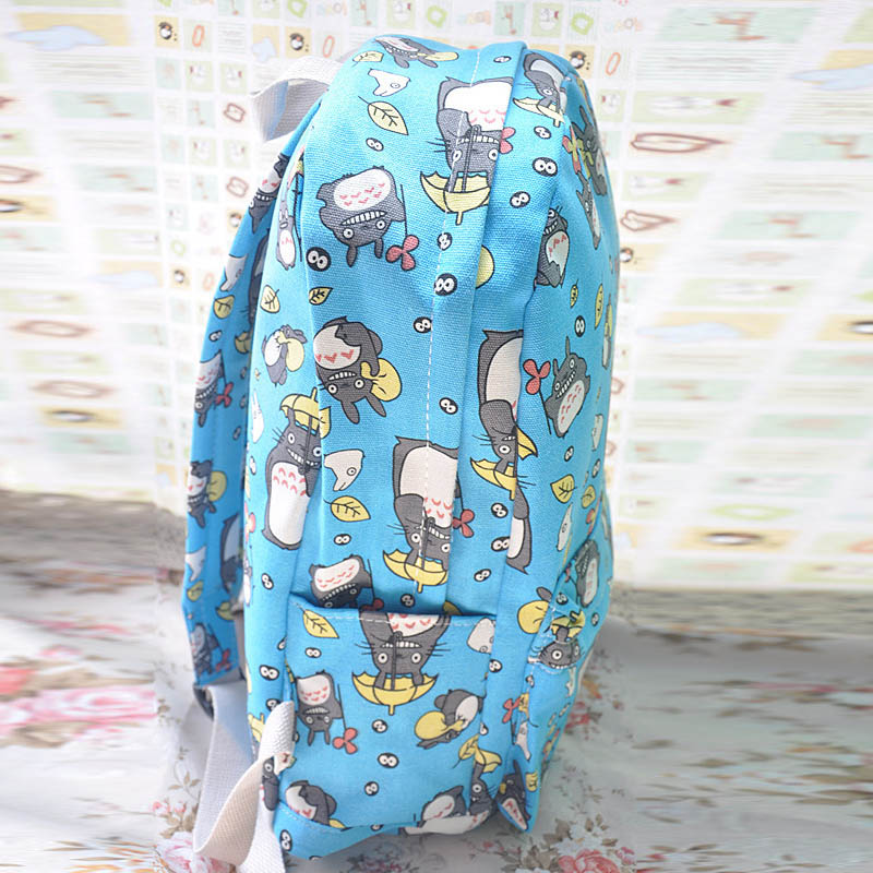 My Neighbor Totoro Printing Canvas Backpack