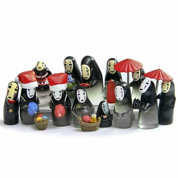 Studio Ghibli Spirited Away No Face Translucence Figures