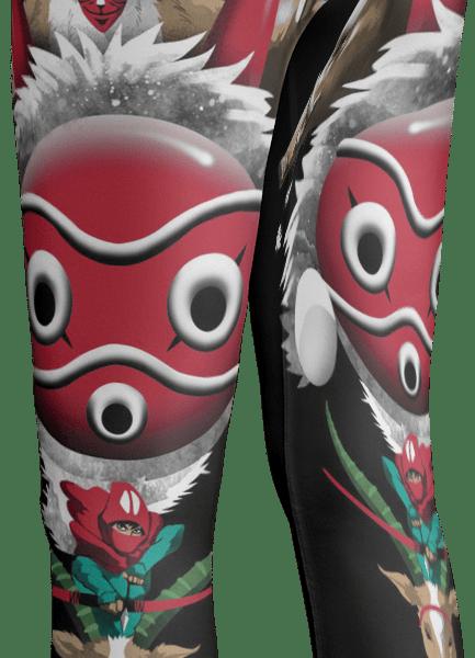 Princess Mononoke Leggings Style 3