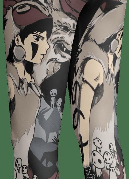 Princess Mononoke Leggings Style 7