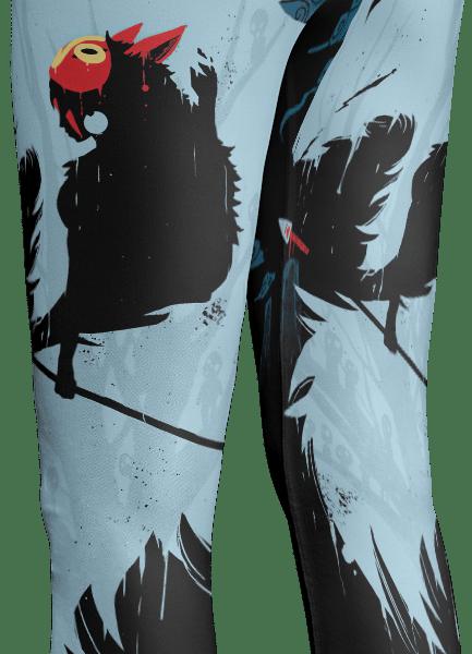 Princess Mononoke Leggings Style 4