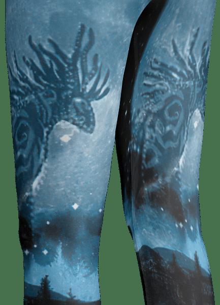 Princess Mononoke Forest Spirit Legging
