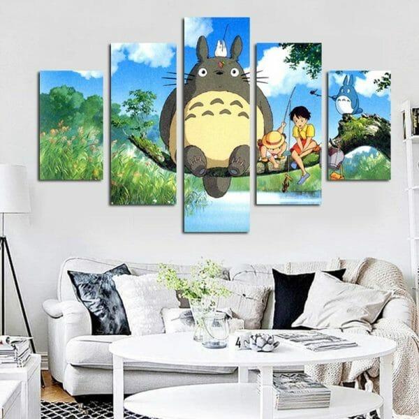 Totoro Art Wall Poster - ghibli.store