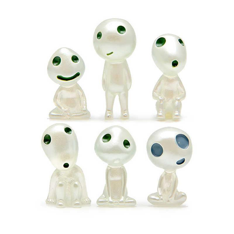 Studio Ghibli Princess Mononoke Tree Spirits Figure 5pcs/set - ghibli.store