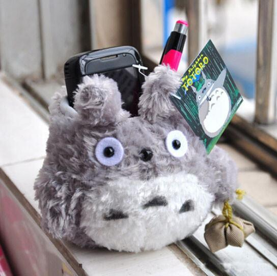 Totoro Plush Phone Stand Holder - ghibli.store