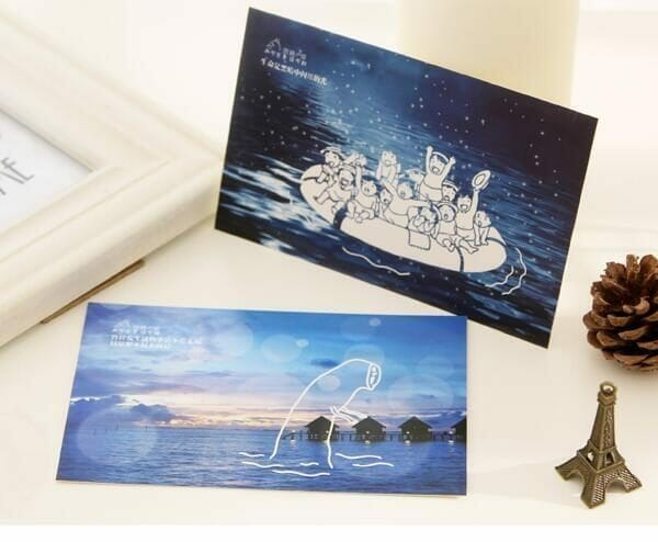 Ghibli Studio Luminous Postcard 30pcs/lot - ghibli.store