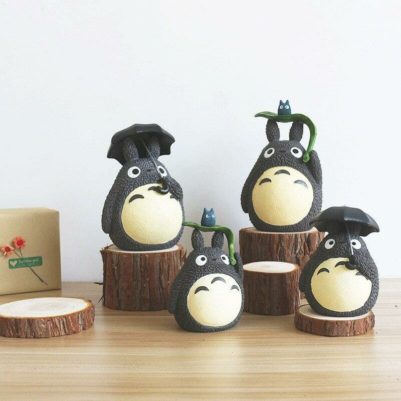 My Neighbor Totoro with Umbrella Piggy Bank - ghibli.store