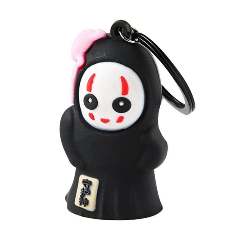 Spirited Away No Face Kaonashi Keychain - ghibli.store