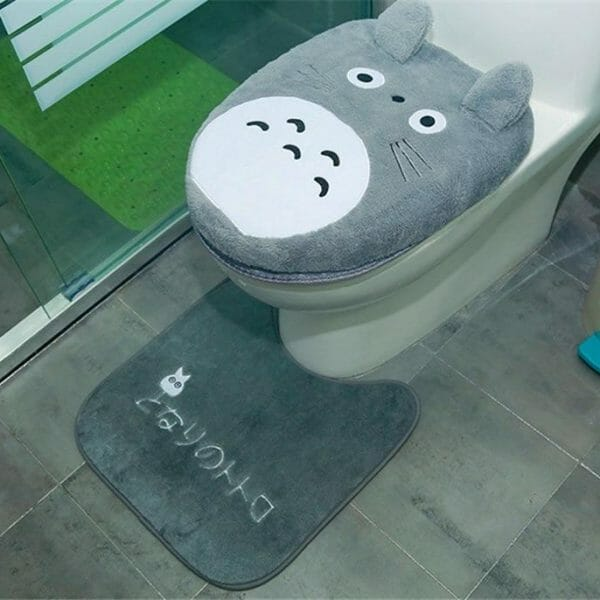 My Neighbor Totoro Toilet Seat Cover Mat - ghibli.store