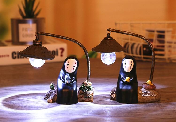 Spirited Away No Face Kaonashi Figures Toy LED Light - ghibli.store