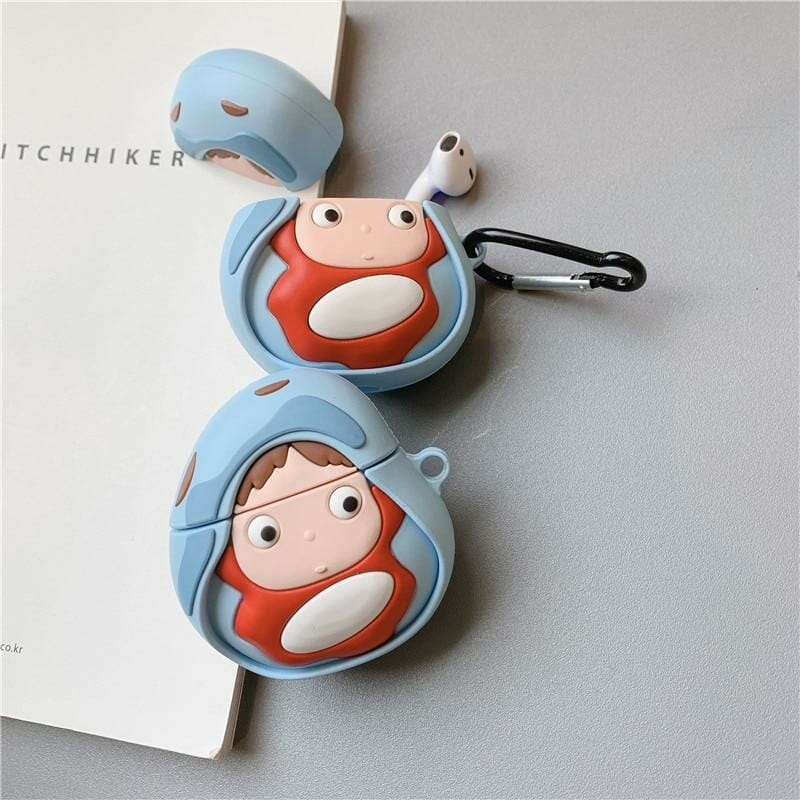 Ponyo on The Cliff Airpods Case - ghibli.store