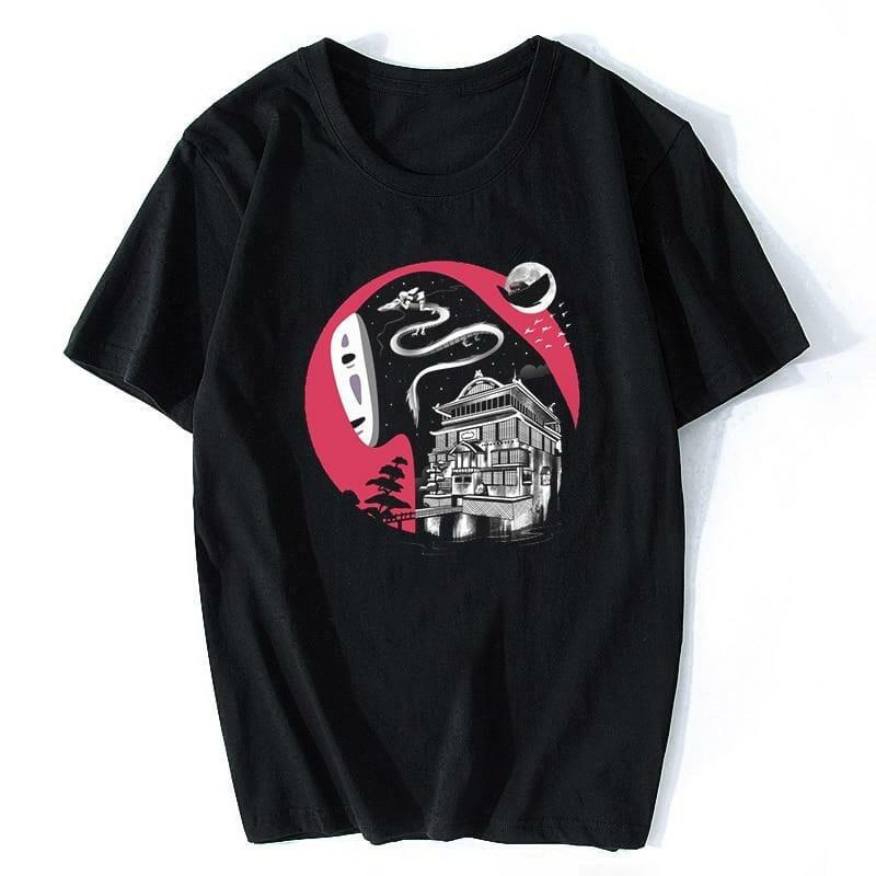 Spirit Away Kaonashi No Face Unisex T Shirt - ghibli.store