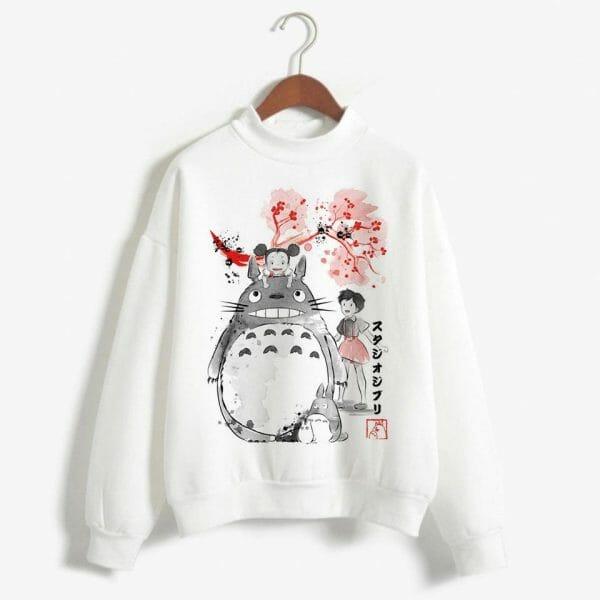 Ghibli Studio Characters Sweatshirt for Women - ghibli.store