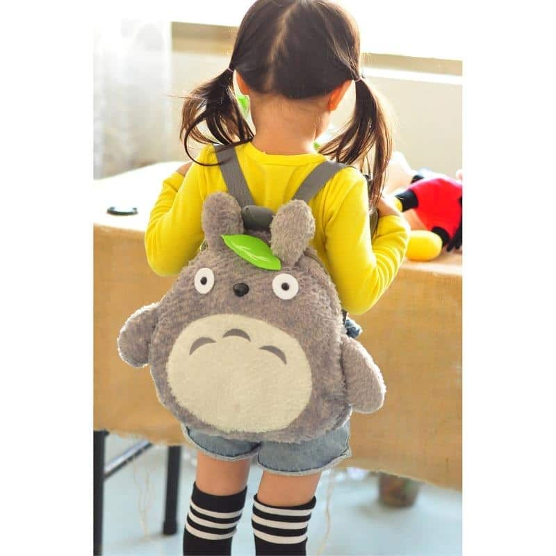 My Neighbor Totoro Stuffed Backpack 2 sizes for Kid - ghibli.store