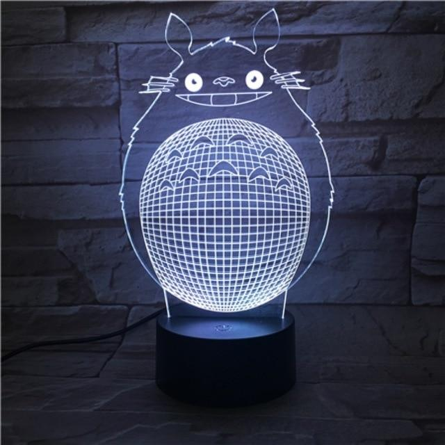 My Neighbor Totoro Unique LED Light Bedroom 16 Colors - ghibli.store