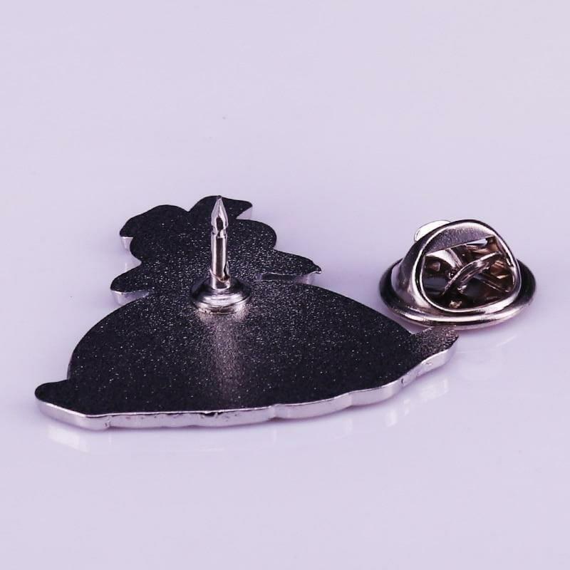 Spirited Away Boh Mouse Badge Pins - ghibli.store