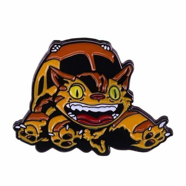 My Neighbor Totoro Catbus Badge Pins - ghibli.store
