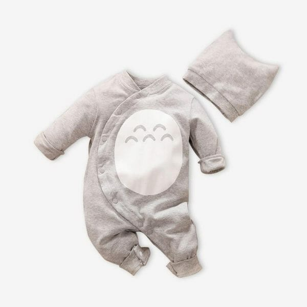 My Neighbor Totoro Cosplay Onesies with Hat For Baby - ghibli.store