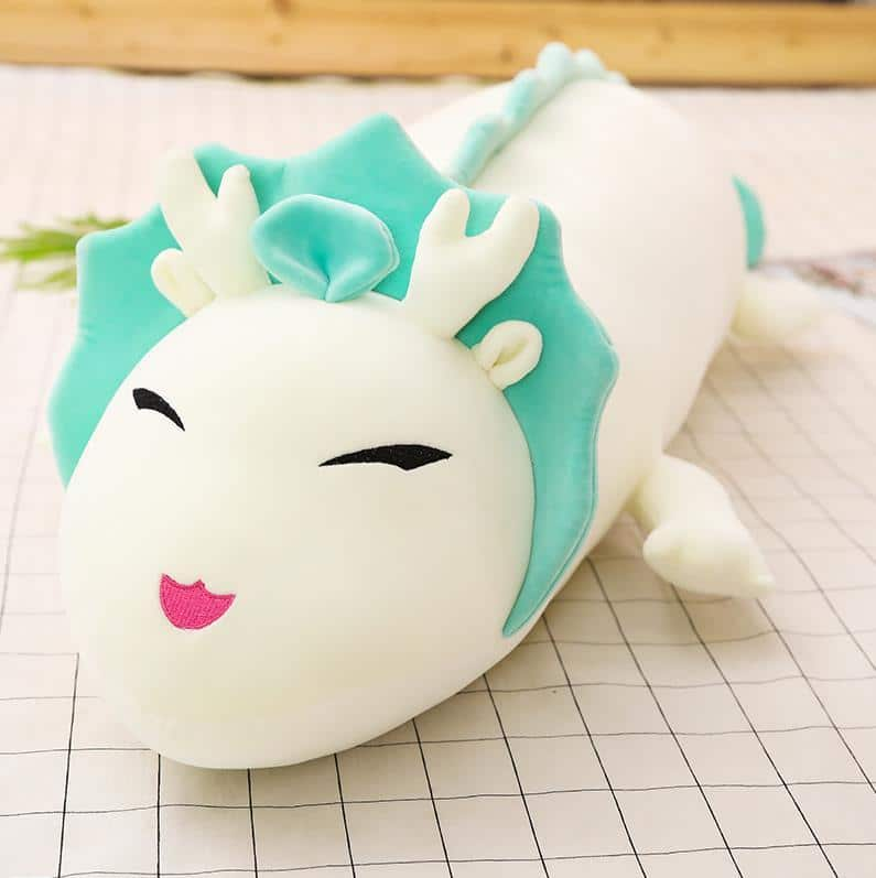 Spirited Away Dragon Haku Super Soft Plush 90 to 130CM - ghibli.store