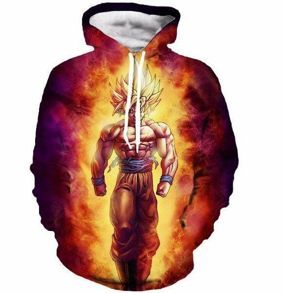 Newest Style Dragon Ball Z Super Saiyan Sweatshirts - ghibli.store