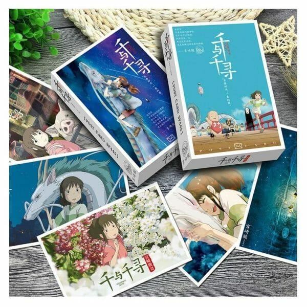 Spirited Away Postcard 36 Sheets/Set - ghibli.store