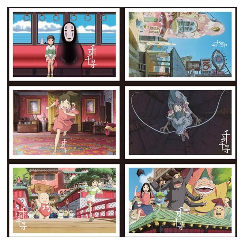 Spirited Away Postcard 36 Sheets/Set - ghibli.store