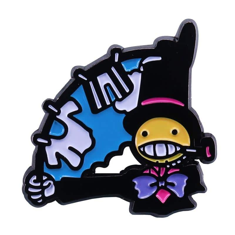 Howl's Moving Castle Kakashi no Kabu Hanging Clothes Badge Pins - ghibli.store