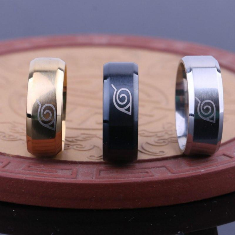 Naruto Stainless Steel Ring - ghibli.store