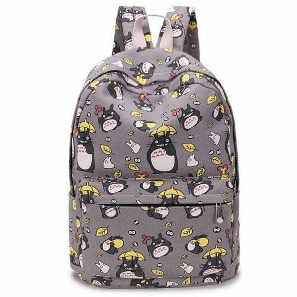 My Neighbor Totoro Printing Canvas Backpack - ghibli.store