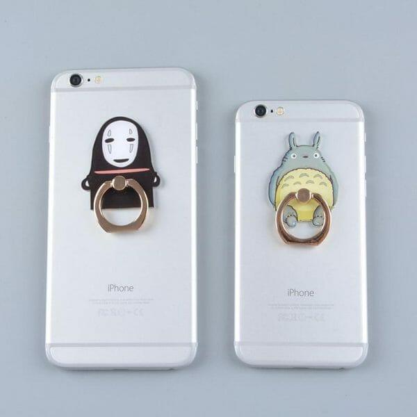 Totoro Kaonashi Figure Stand holder for Iphone - ghibli.store