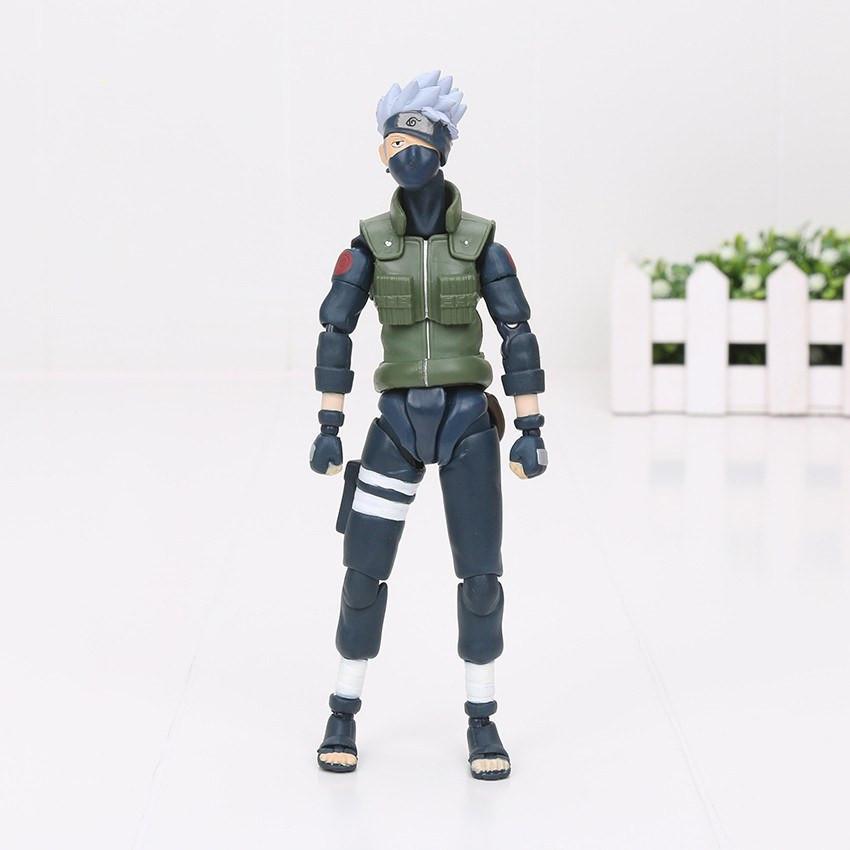Naruto Sasuke Minato Namikaze Hatake Kakashi Collectible Toys Figures - ghibli.store