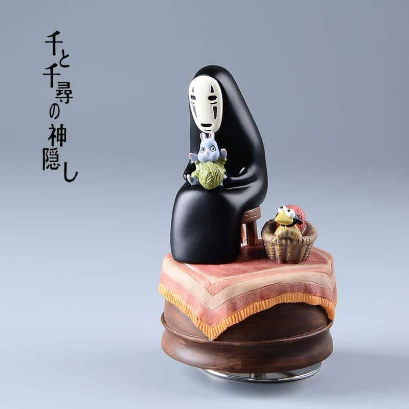 Spirited Away Kaonashi No Face Music Box - ghibli.store