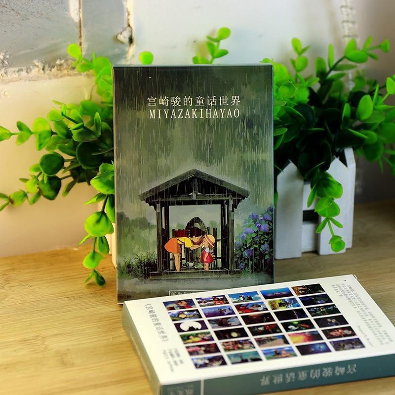 Studio Ghibli Oil Painting Postcard 30pcs/lot - ghibli.store