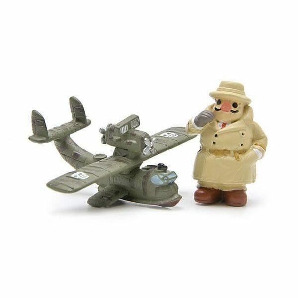 Porco Rosso & Airplane Figure - ghibli.store