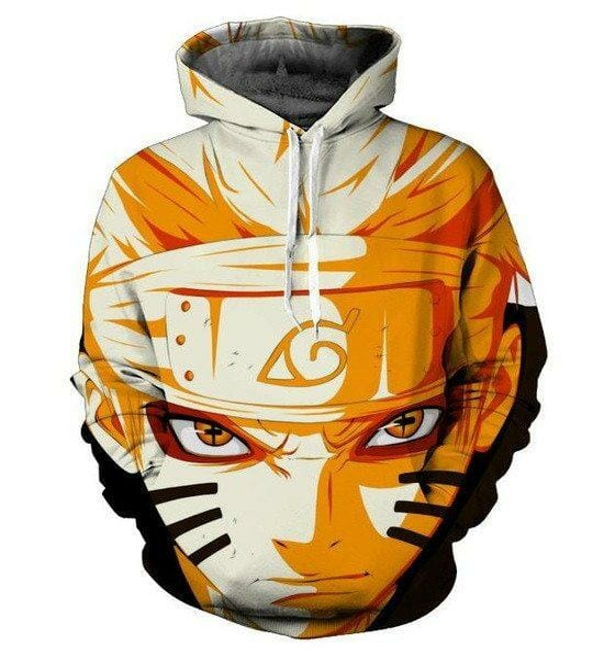 Naruto Sasuke 3D Hoodie Sweatshirt - ghibli.store