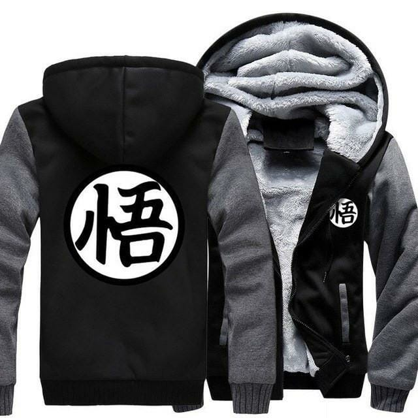 Dragon Ball Z Winter Jacket - ghibli.store