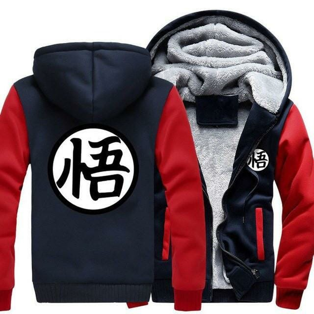 Dragon Ball Z Winter Jacket - ghibli.store
