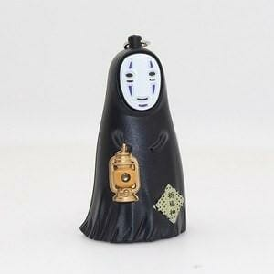 Spirited Away No Face Kaonashi LED keychain with sound - ghibli.store