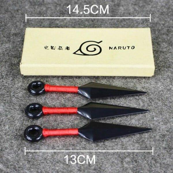 Four Styles Naruto Plastic Kunai 13cm/26cm - ghibli.store