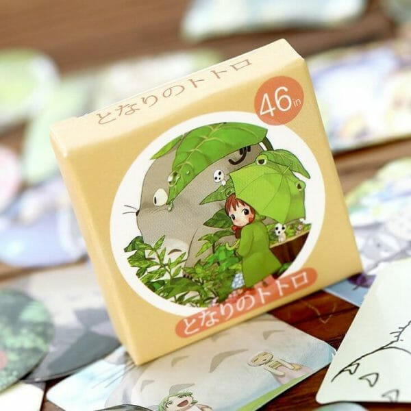 My Neighbor Totoro Cute Stickers 46 pcs/set - ghibli.store