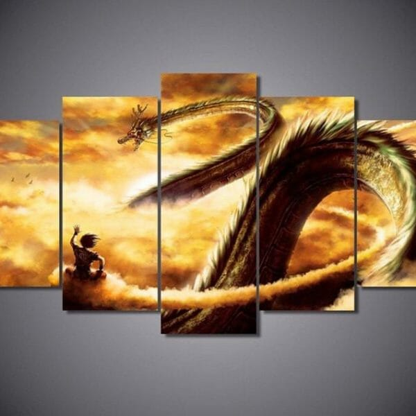 Dragon Ball Z Dragon Wall Picture - ghibli.store