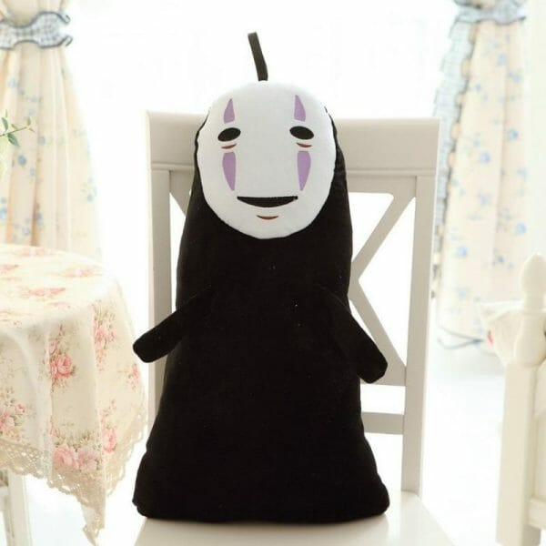Spirited Away Kaonashi No Face Plush 60Cm - ghibli.store
