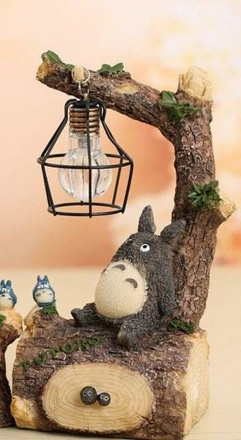 My Neighbor Totoro Led Night Light Figure - ghibli.store