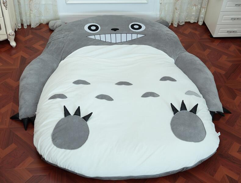 Totoro Plush Single And Double Bed - ghibli.store