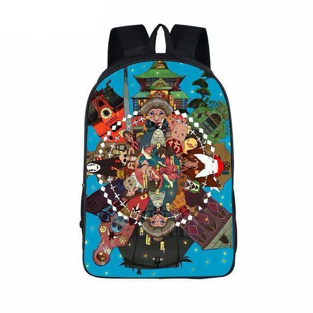 Studio Ghibli Printing Backpack 16 Styles - ghibli.store