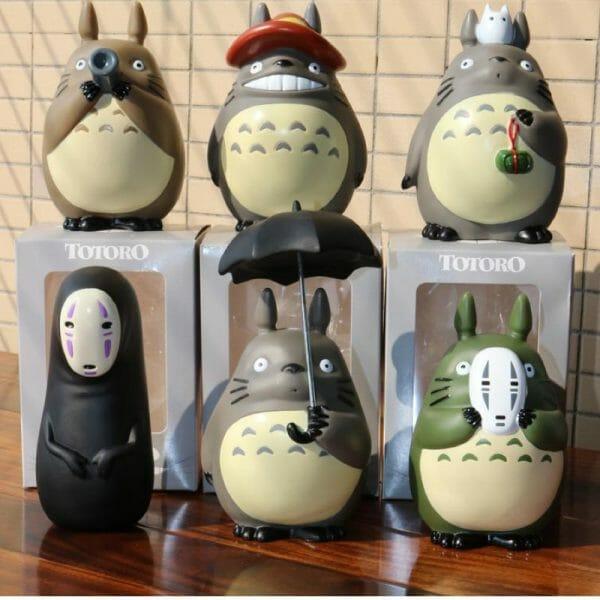 My Neighbor Totoro & Spirited Away Car Decoration Figures - ghibli.store
