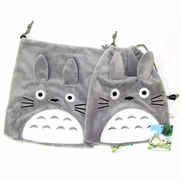 Totoro Drawstring Bag 22x20cm - ghibli.store