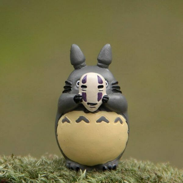 Totoro Cosplay No Face Figure - ghibli.store