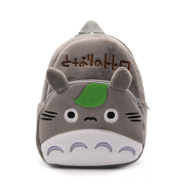 Totoro Plush Kid Backpack - ghibli.store